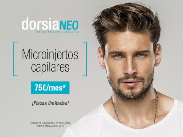 Microinjertos Capilares técnica FUSS y FUE - DorsiaNeo, Unidad de Microinjertos Capilares desde 75€ mes