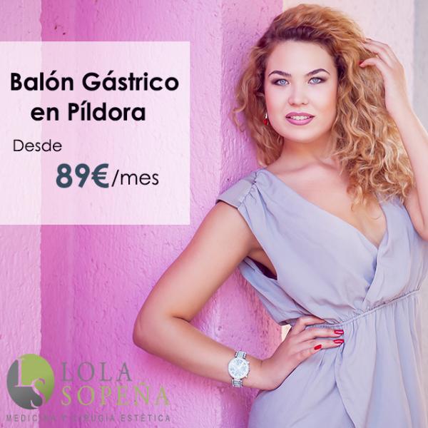 Desde 89€/mes por el Balón Gástrico en Píldora en TodoEstetica.com