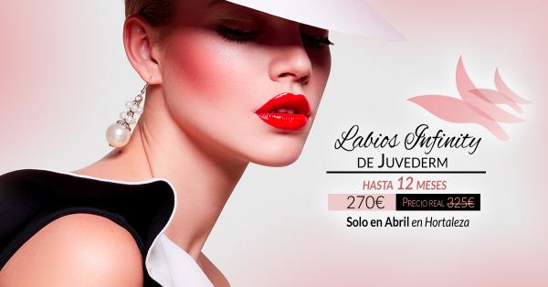 ¡Solo en Abril! Aumento de labios de larga duración 270€