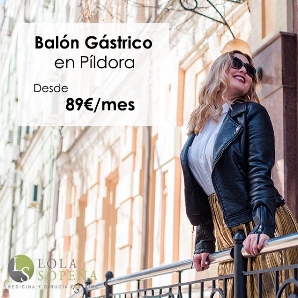 Desde 89€/mes Balón Gástrico en Píldora