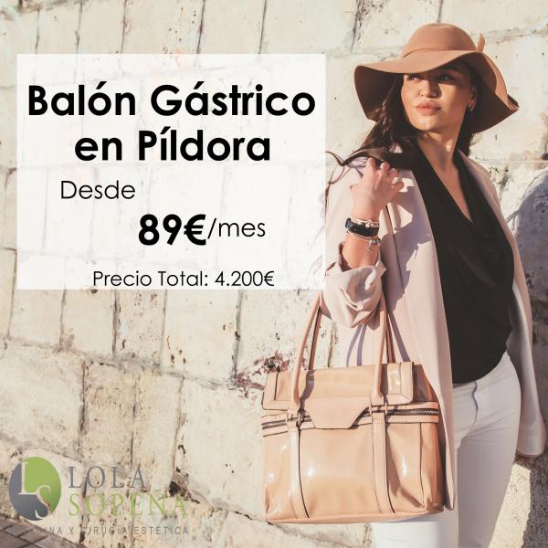 Balón gástrico en Píldora desde 89 €/mes en TodoEstetica.com