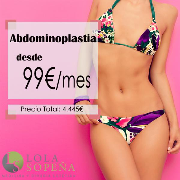 Desde 99€/mes Abdominoplastia con Todo Incluido en TodoEstetica.com