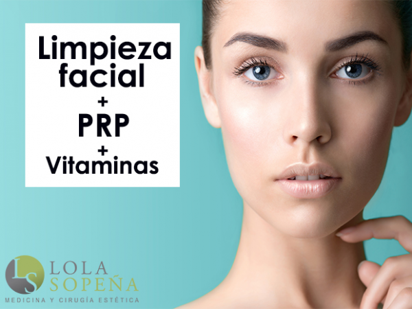 Limpieza Facial + PRP + Vitaminas 99€ en TodoEstetica.com