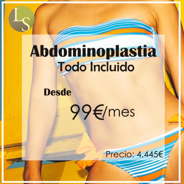 Desde 99€/mes Abdominoplastia con Todo Incluido