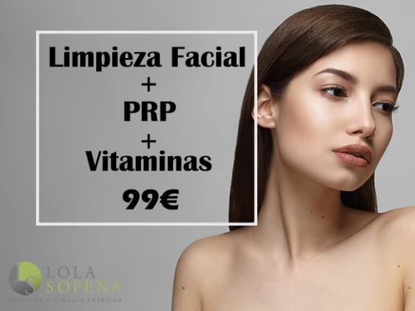 99€ Limpieza Facial + Plasma Rico En Plaquetas + Vitaminas Infiltradas
