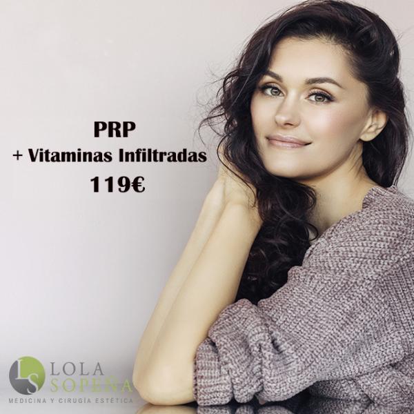 119€ PRP + Vitaminas Faciales Infiltradas