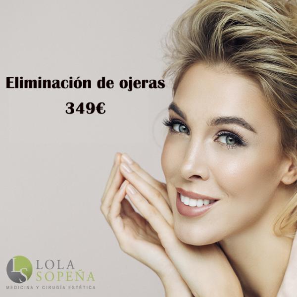 Eliminación de ojeras + Vitaminas Faciales Infiltradas 349€