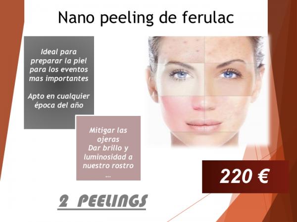 NANO PEELING DE FERULAC en TodoEstetica.com