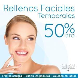 2x1 en Rellenos Faciales Temporales  en TodoEstetica.com