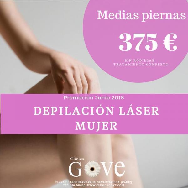 Oferta junio depilación láser mujer en TodoEstetica.com