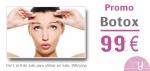 Botox por solo 99€/zona