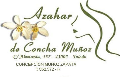 Logo AZAHAR DE CONCHA MUÑOZ