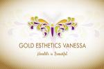 Logo Gold Esthetics Vanessa
