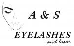 Logo A&S Eyelashes and laser