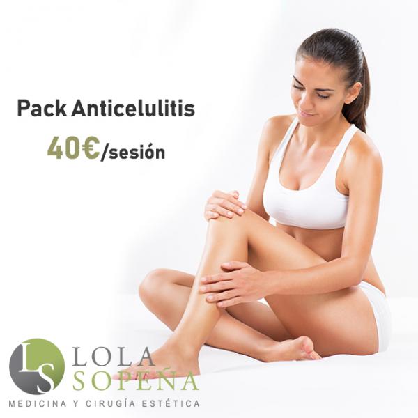 Pack Anticelulitis 40€/sesión