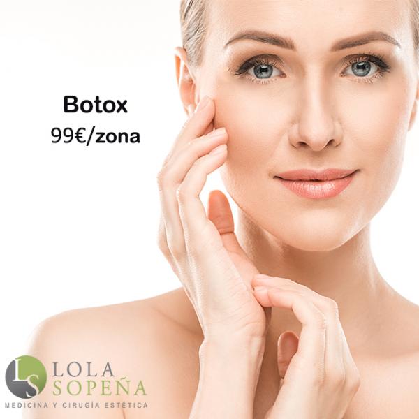 Botox 1 zona 99€
