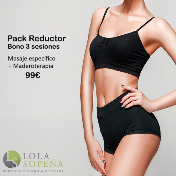 Pack Reductor Bono 3 sesiones 99€