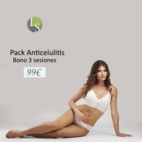 Pack Anticelulitis bono 3 sesiones  en TodoEstetica.com