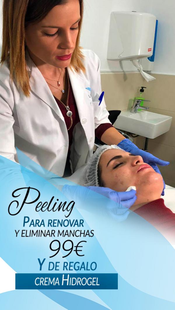 Peeling químico + Crema hidrogel de regalo 99€ en TodoEstetica.com