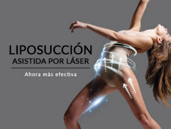 Liposucción asistida por láser.