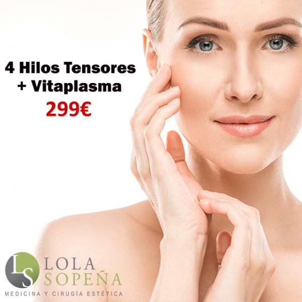 4 Hilos Tensores Espiculados + Vitaplasma 299€ en TodoEstetica.com