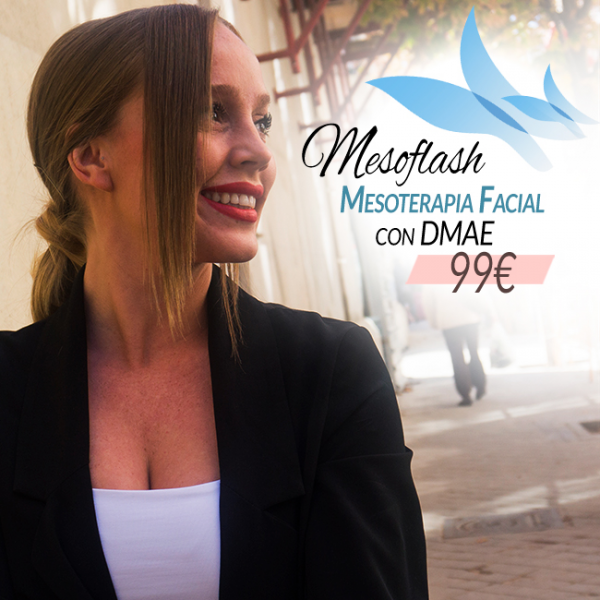 Mesoflash: Mesoterapia facial con tensor DMAE 99€ en TodoEstetica.com
