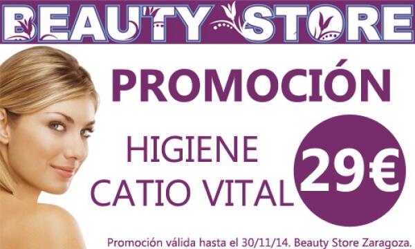 Promoción Higiene Catio Vital en TodoEstetica.com