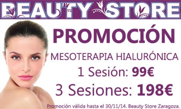 Promoción Mesoterapia Facial Ácido Hialurónico