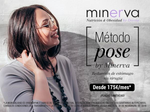 Método POSE by Minerva, la reducción de estómago sin cirugía desde 175€/mes