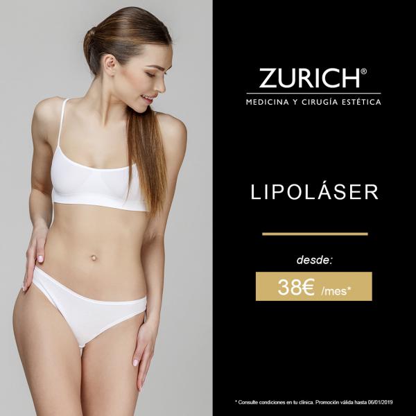 Liposucción Lipoláser:  Elimina la grasa localizada con la liposucción asistida por láser desde 38 euros/mes