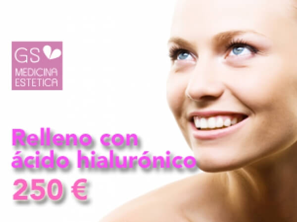 Rellenos de ácido hialuronico desde 250 euros en TodoEstetica.com