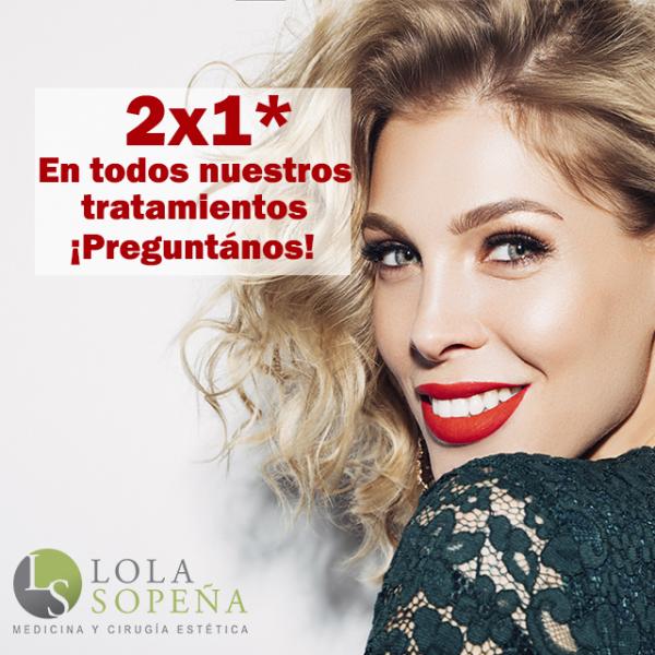 2x1* contratando cualquier tratamiento estético en TodoEstetica.com