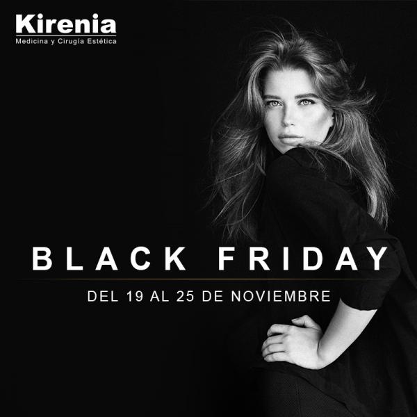 ¡Kirenia te trae las increibles promociones de BLACK FRIDAY! Disponibles hasta el 25 de Noviembre. RESERVA YA en TodoEstetica.com