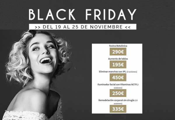 Promoción especial Black Friday