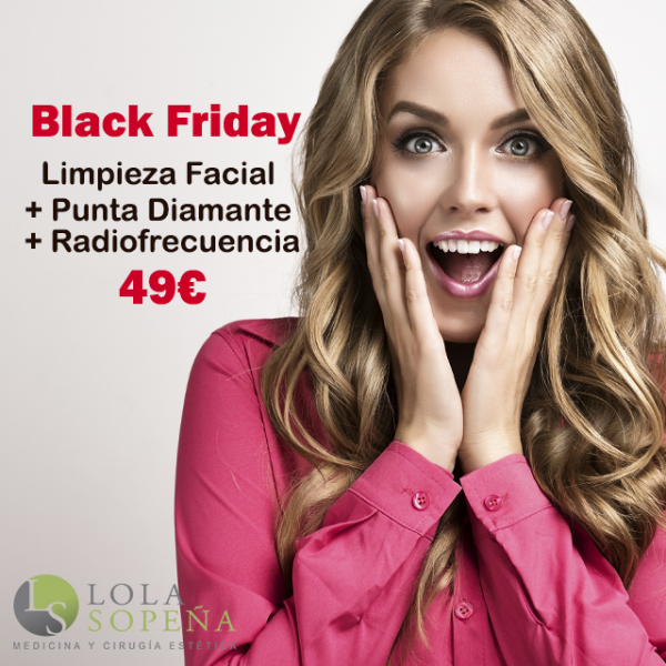 49 € Limpieza Facial + Punta de Diamante + Radiofrecuencia
