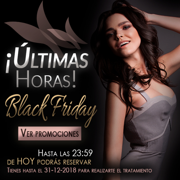 ¡Últimas horas del Black Friday! en TodoEstetica.com