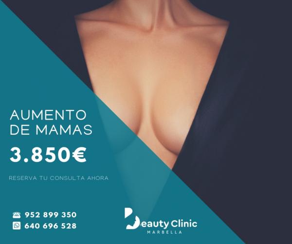 AUMENTO DE MAMAS 3.850€
