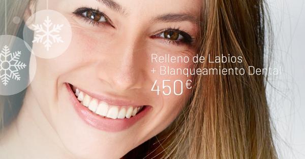 Relleno de Labios + Blanqueamiento Dental  en TodoEstetica.com