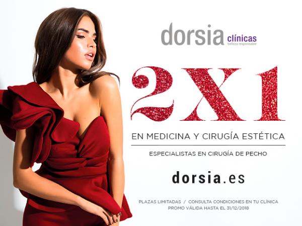 Aumento de pecho 2x1 en TodoEstetica.com