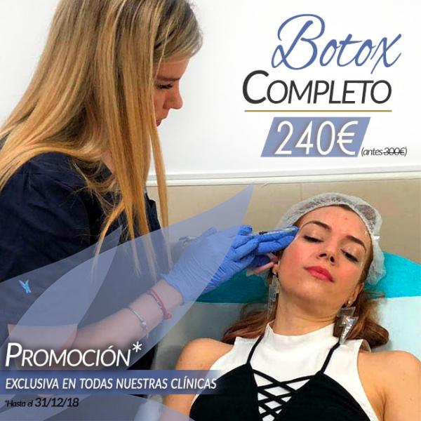 Botox completo 240€ en TodoEstetica.com