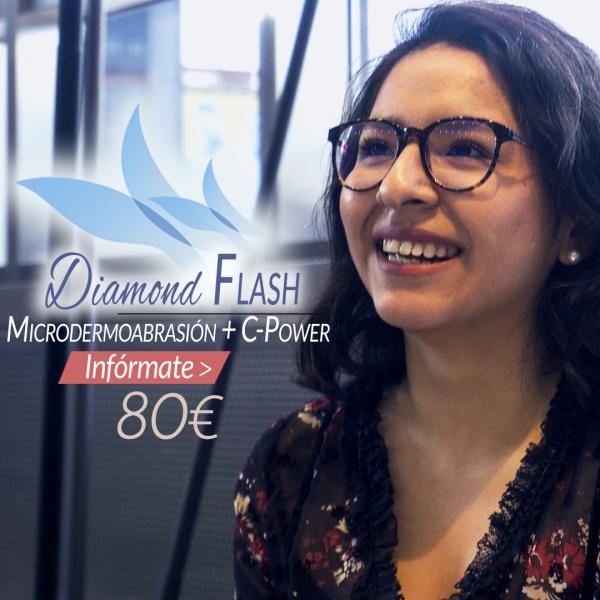 Diamond Flash 80€/sesión en TodoEstetica.com