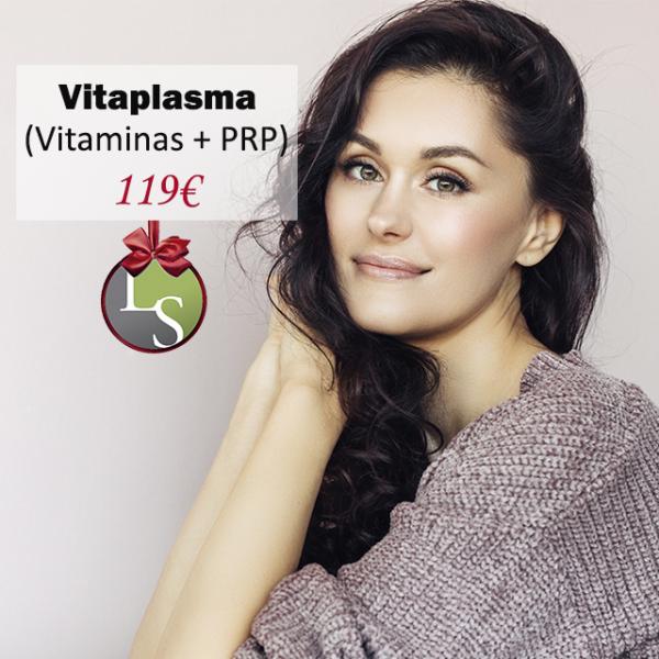 Limpieza facial + Punta de diamante + Vitaplasma (PRP + Vitaminas) 119€