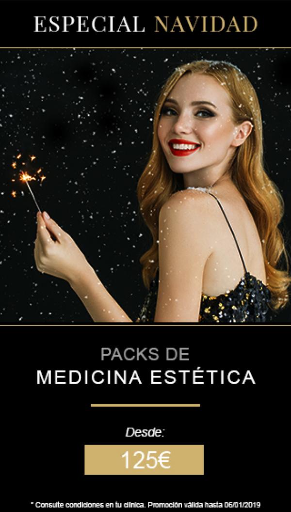 Medicina estética | Packs especiales de Navidad
