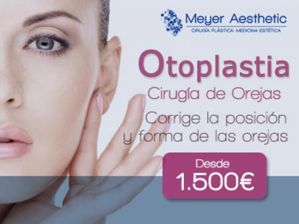 OTOPLASTIA por 1500 euros en TodoEstetica.com