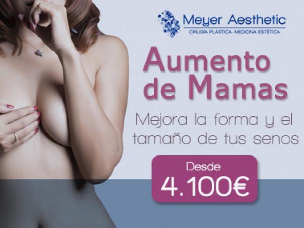 Aumento de pecho desde 4100 euros en TodoEstetica.com