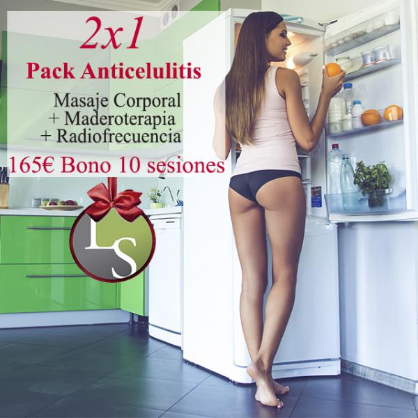 2x1 Pack Anticelulitis Bono 10 sesiones por 165€
