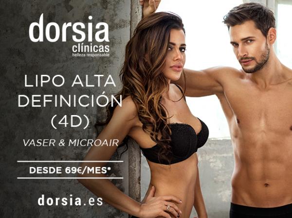 Liposucción Alta Definición 4D (Vaser & Microair) desde 69€ al mes