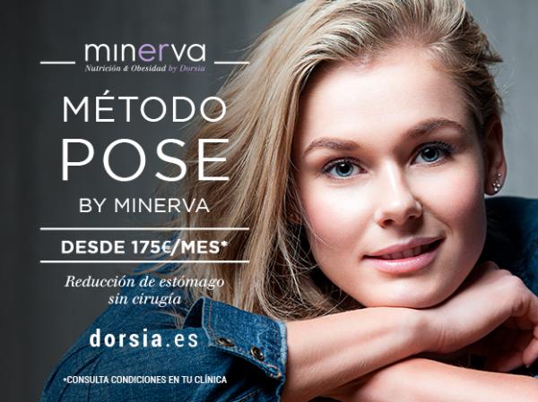 Método POSE by Minerva, la reducción de estómago sin cirugía desde 175€/mes con el seguimineto ¡GRATIS!