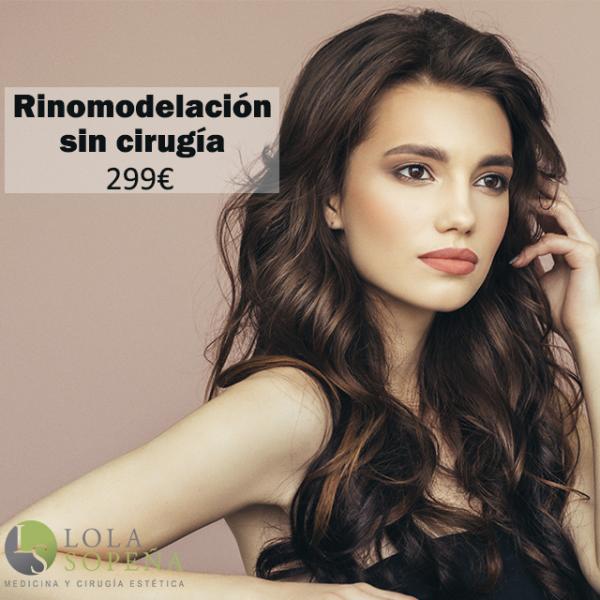 Rinomodelación sin cirugía 299€ en TodoEstetica.com