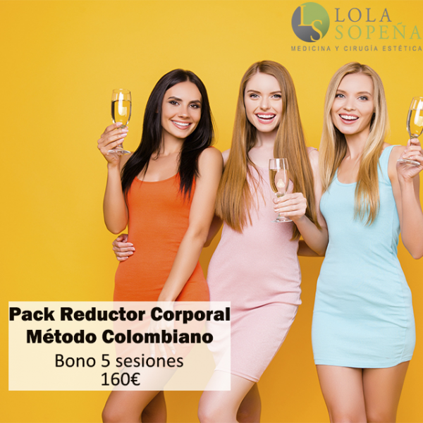 Pack Reductor Corporal Bono 5 sesiones 165€